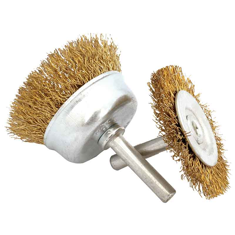 Abracs Spindle Mounted Wire Brush
