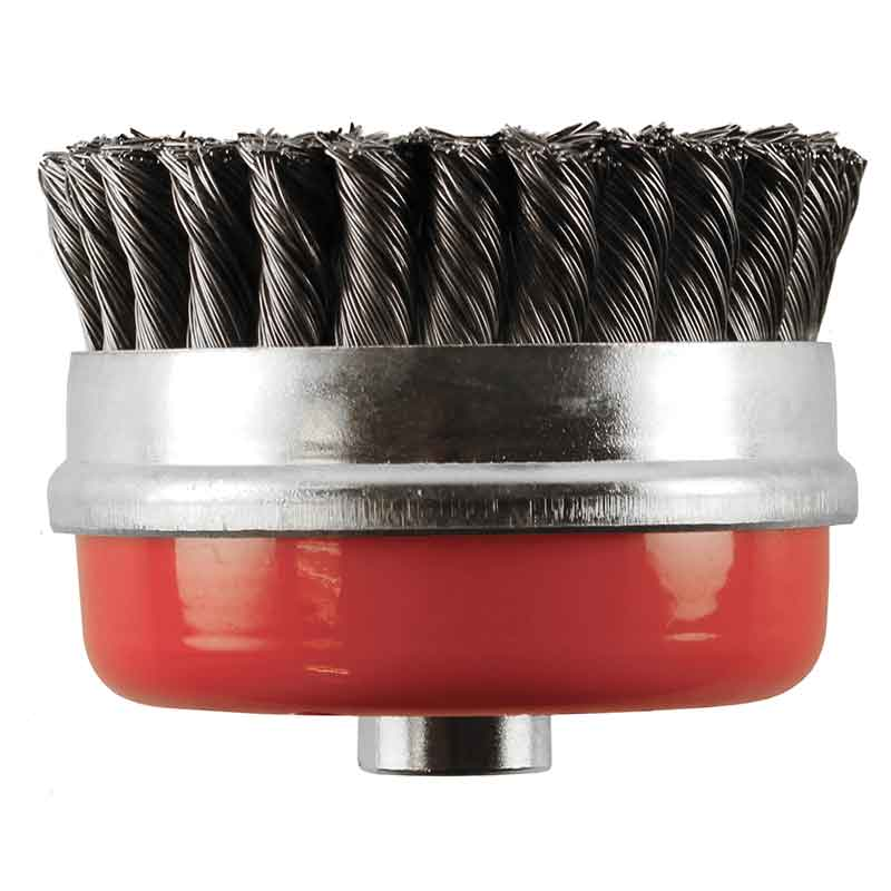 Abracs Crimped Cup Wire Brush