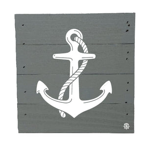 "6"" x 6"" Anchor Wood Box"