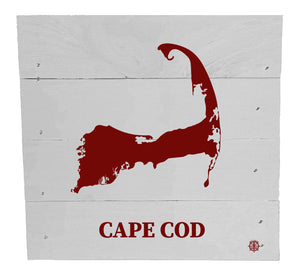 "6"" x 6"" Cape Cod Wood Box"