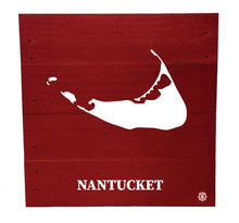 "Load image into Gallery viewer, 6"" x 6"" Nantucket Wood Box"