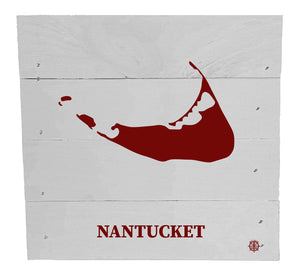 "6"" x 6"" Nantucket Wood Box"