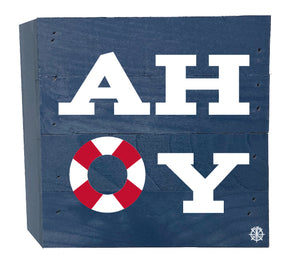 AHOY Wood Box