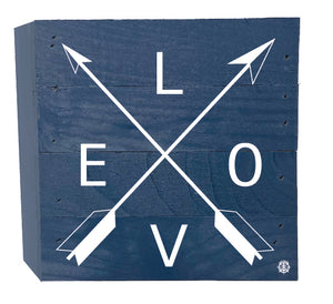 Love Arrows Wood Box