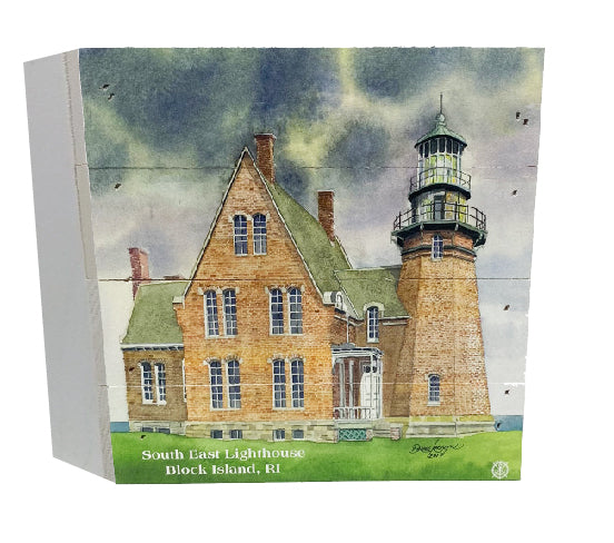 Southeast Block Island Lighthouse Wood Box