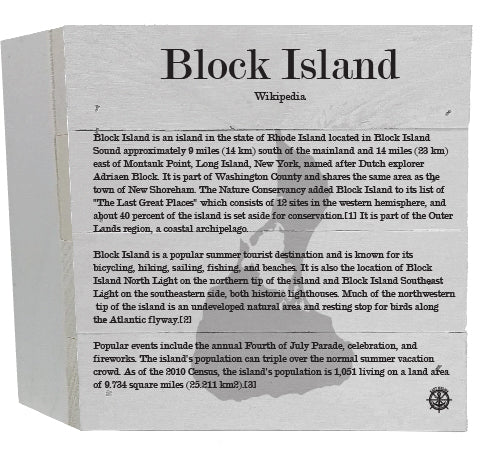Block Island Wikipedia Decor