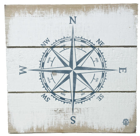 Nautical Compass Rustic Decor