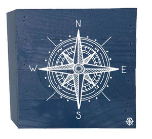 Compass Wood Box