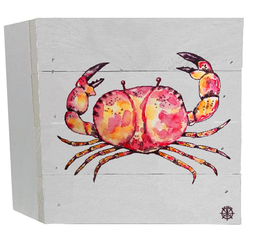 Crab White Box