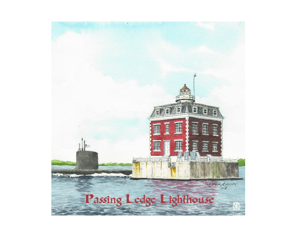 Passing Ledge Light Wood Box