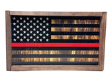 American Flag Shelf Sitter