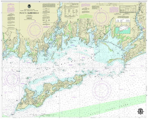 Fishers Island Sound, NY Nautical Charts