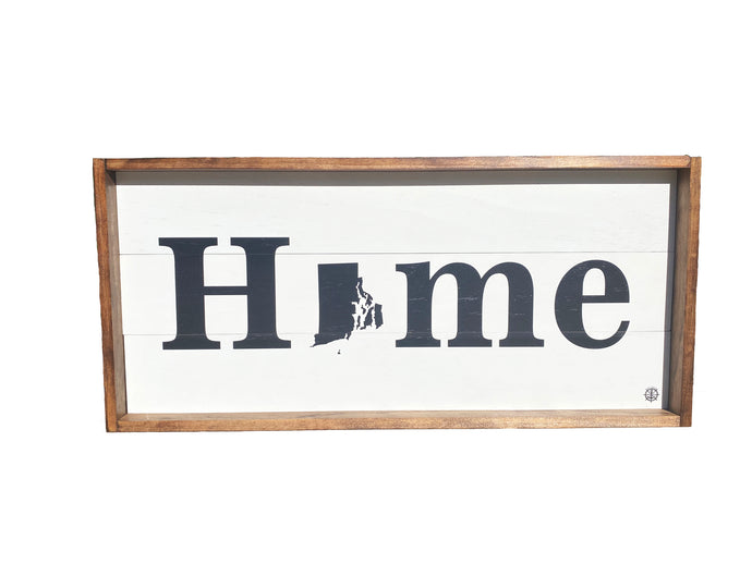 Custom Handmade Home State Sign