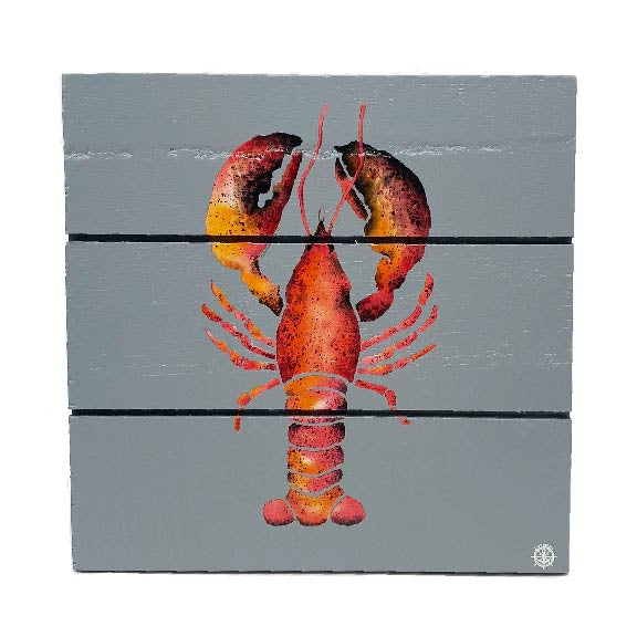 Lobster Wood Hanging Plank