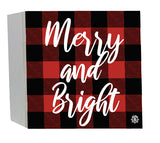 Merry & Bright Wood Box