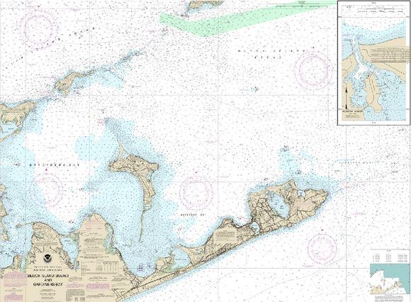 Montauk, NY Nautical Charts