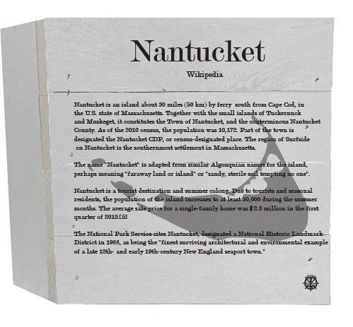 Nantucket Wikipedia Decor