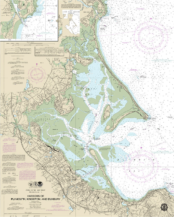 Plymouth, MA Nautical Charts