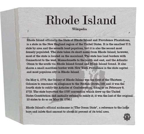 Rhode Island Wikipedia Decor