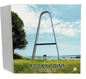 "Rocky Point ""Arch"" Wood Box"