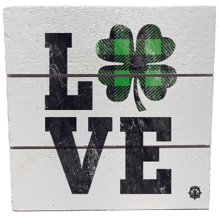 Love Plaid Shamrock