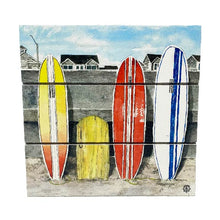 Load image into Gallery viewer, Surfboards Wood Hanging Plank