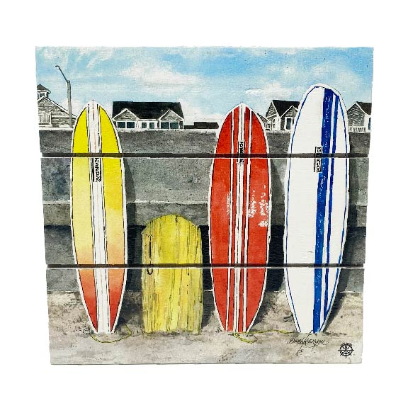 Surfboards Wood Hanging Plank
