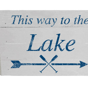 This way to the Lake