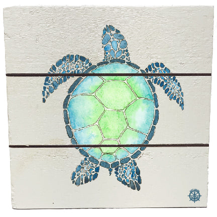 Watercolor Seaturtle
