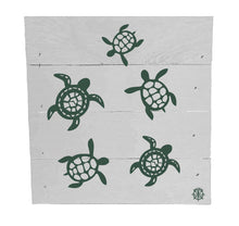 "Load image into Gallery viewer, 6"" x 6"" Turtles Wood Box"