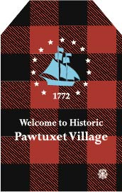 Pawtuxet Village Christmas Ornament
