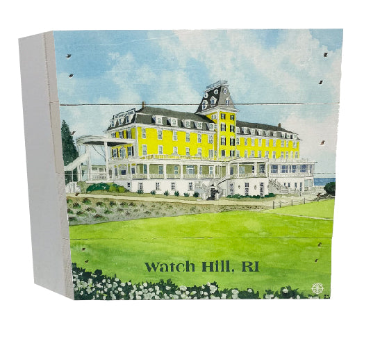 Ocean House, Watch Hill RI Wood Gift