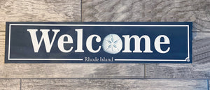 Sand Dollar Welcome Sign