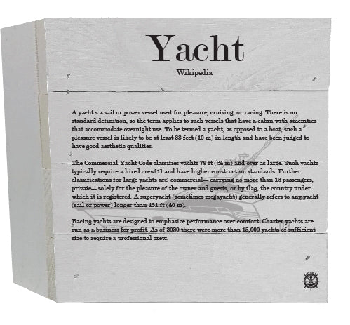Yacht Wikipedia Decor