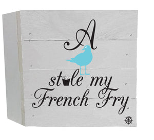 French Fry Wood Box