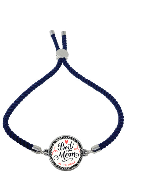 Best Mom Rope Bracelet