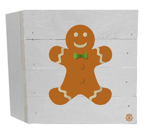 Gingerbread Man Wood Box