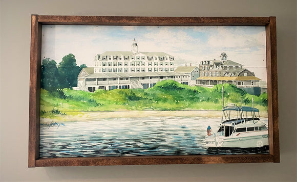 Old Harbor Block Island Wall Art