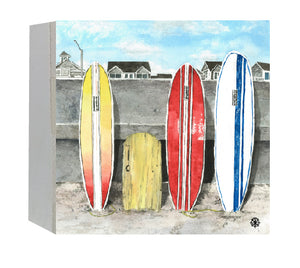 Surfboards Wood Box