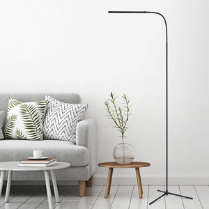 Floor Lamp 3-in-1, Dimmable LED Reading Standing Lamp with C-Clamp and Tripod Base