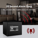 Home Safe Solid Steel Electronic Digital Safety Security Box Cabinet Safe For Jewelry Cash Documents