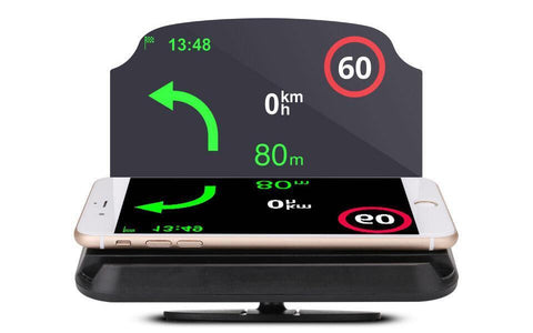 Image of Universal Smartphone GPS Car Projector