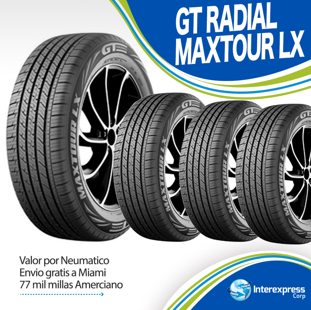 GT RADIAL MAXTOUR LX