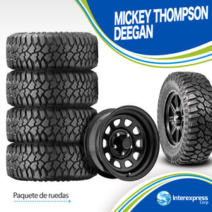 Paquete de ruedas Mickey Thompson Deegan