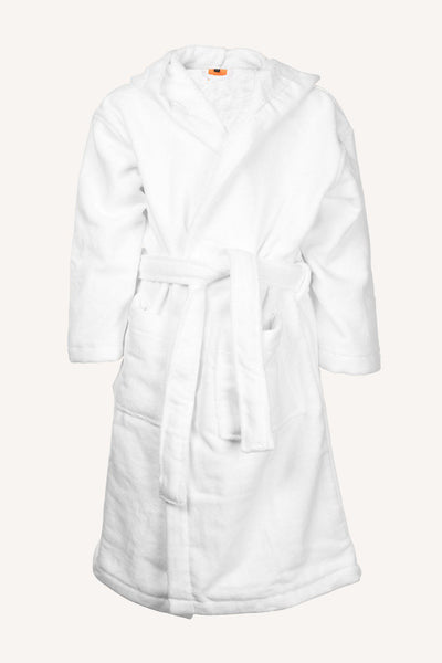 ORBADEN BATHROBE - WHITE