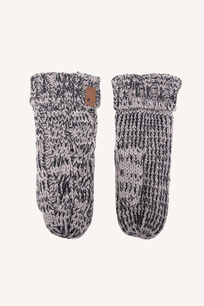HANDLIGHT  MITTEN - GREY/BLACK
