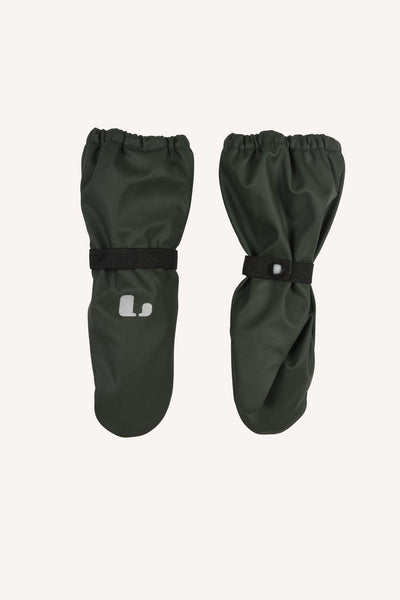 VAREKIL RAIN MITTEN FLEECE - GREEN