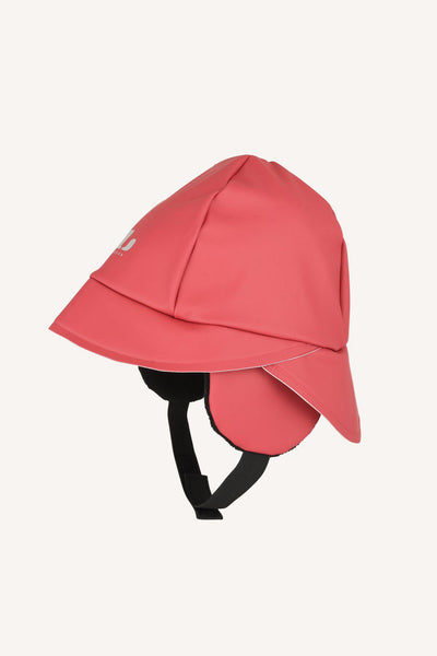 HJUVIK RAIN HAT - BEET RED