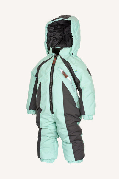 KEYSTONE BABY OVERALL - MINT GREEN
