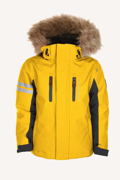 COLDEN JACKET - YELLOW